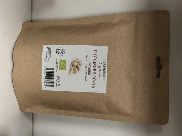 Org Dry Ginger Root Pdr 250g BP1