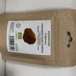 Org Cinnamon Bark Pdr 50g BP
