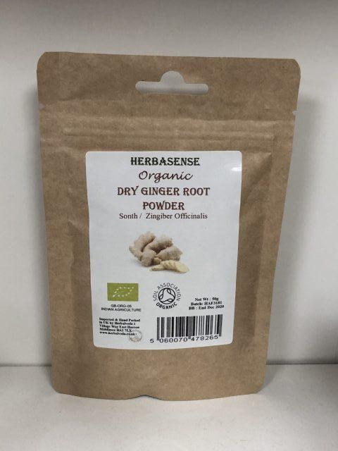 Org Dry Ginger Root Pdr 50g BP