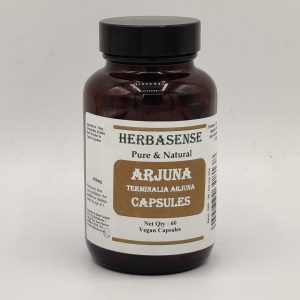 ARJUNA BARK POWDER CAPSULES BOTTLE