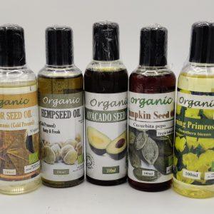 Organic Cold Pressed Oils