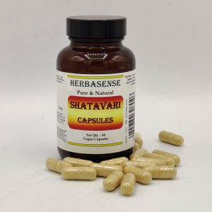 SHATAVARI ASPARAGUS POWDER CAPSULE BOTTLE