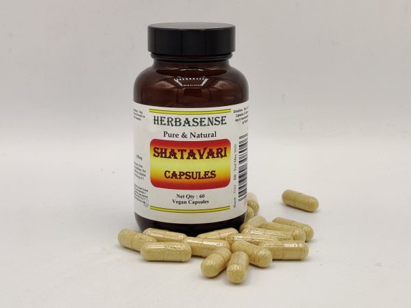 SHATAVARI ASPARAGUS POWDER CAPSULE BOTTLE