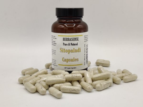 Sitopaladi Capsules bottle
