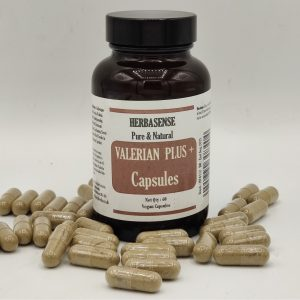 VALERIAN PLUS SLEEP AID CAPSULE BOTTLE